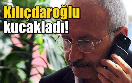 Kılıçdaroğlu kucakladı!