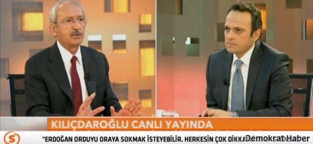Kılıçdaroğlu: Orduyu Suriye'ye sokmak isteyebilir