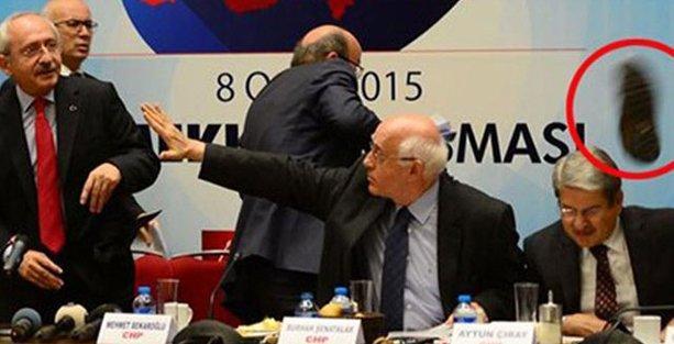 Kılıçdaroğlu'na ayakkabı fırlatan kişi serbest
