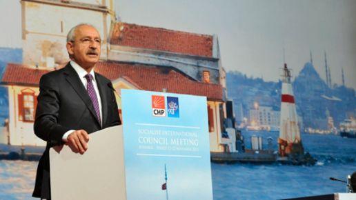 Kılıçdaroğlu'ndan Enternasyonal'e çağrı