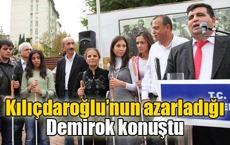 Kılıçdaroğlu'nun azarladığı Demirok konuştu