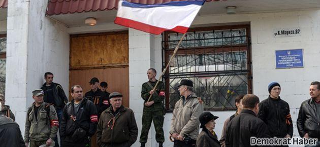 Kırım Rusya'ya bağlanma kararı aldı