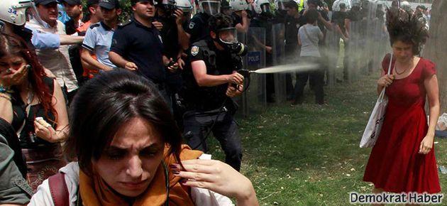 'Kırmızı elbiseli' kadın direnişçi dış basına konuştu
