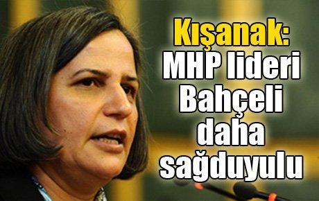 Kışanak MHP lideri Bahçeli daha sağduyulu