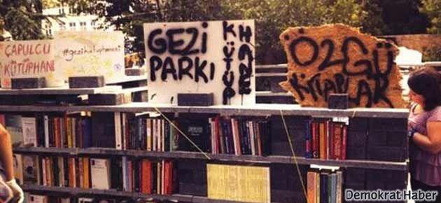 Gezi Parkı'nda kitap okumak da yasak!