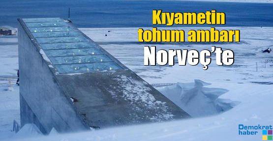 Kıyametin tohum ambarı Norveç'te