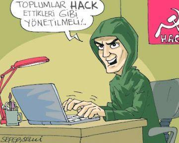 Kızıl Hackerlar 8 Mart için hackledi