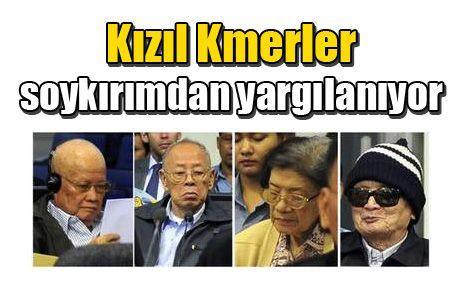 Kızıl Kmerler soykırımdan yargılanıyor
