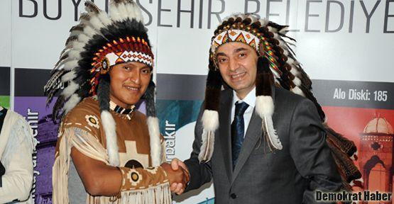 Kızılderili İnka Sol Grubu Diyarbakır'da