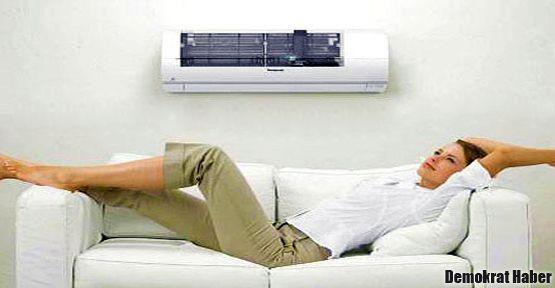 Klimalı evlerde zehirlenmeyin