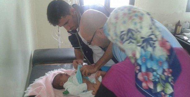 Kobani'de doktor ve ilaç sıkıntısı!