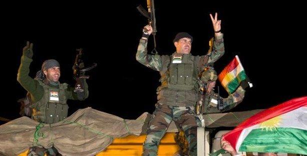 Kobani'de görev değişimi yapan peşmerge Erbil'e dönüyor