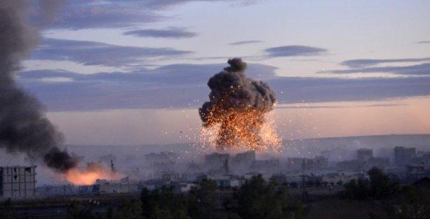 Kobani'de IŞİD'e en kapsamlı saldırı