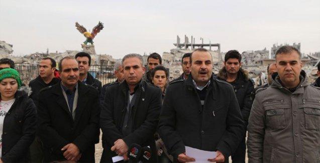 Kobani'nin inşası için komisyon oluşturuldu