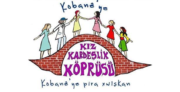 Kobani'ye 'kız kardeşlik köprüsü'