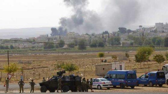 Kobani'ye sızmaya çalışan çok sayıda IŞİD üyesi öldürüldü