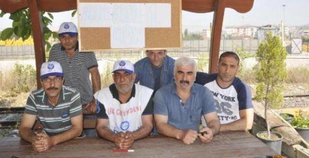 Kocaeli'de liman işçisi açlık grevinde