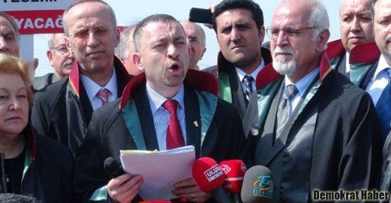 Kocasakal ve 9 baro avukatına hapis istemi
