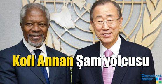 Kofi Annan Şam yolcusu