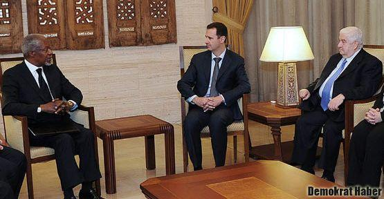 Kofi Annan Şam'a gidiyor
