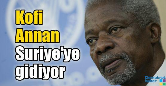 Kofi Annan Suriye'ye gidiyor