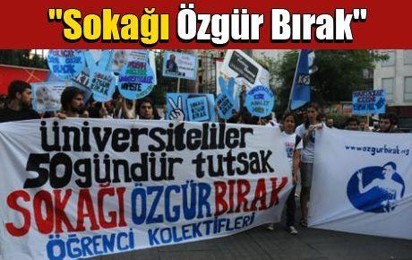 Kolektifler'den 'Sokağı Özgür Bırak' eylemi
