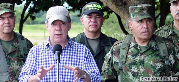 Kolombiya: Ateşe ve barışa devam!