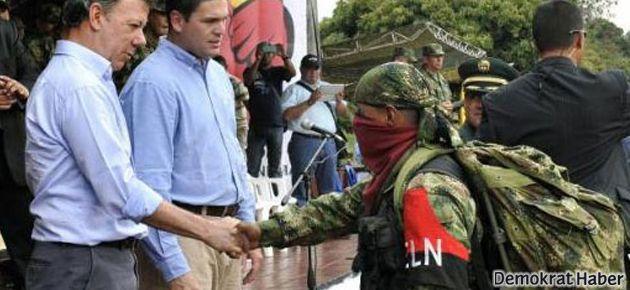 Kolombiya'da barış görüşmelerinde ilerleme