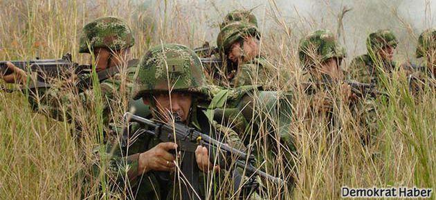 Kolombiya'da çatışma: 17 asker öldü!
