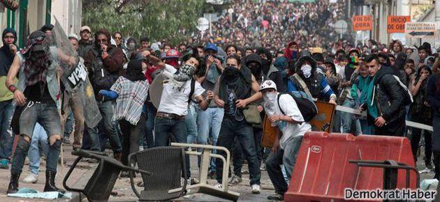 Kolombiya'da çiftçi isyanı