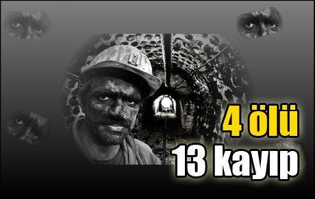Kolombiya'da maden kazası
