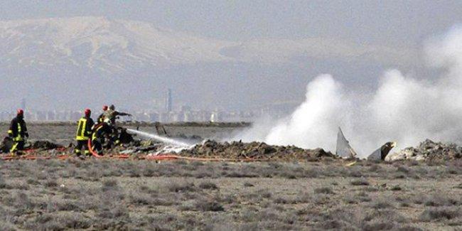 Konya'da da F4 uçağı düştü: 2 pilot hayatını kaybetti