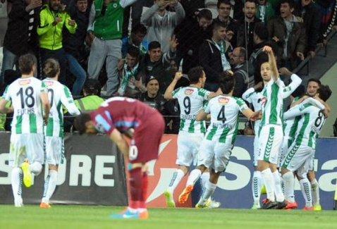 Konyaspor Trabzonspor'u 1-0 yendi