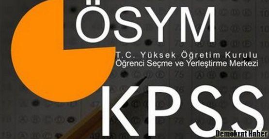 KPSS'den 38 puan alan aday memur oldu!