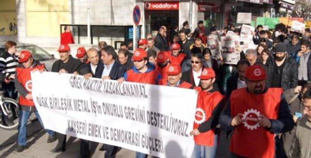 'Krala ulusal yas, işçiye ulusal yasak'