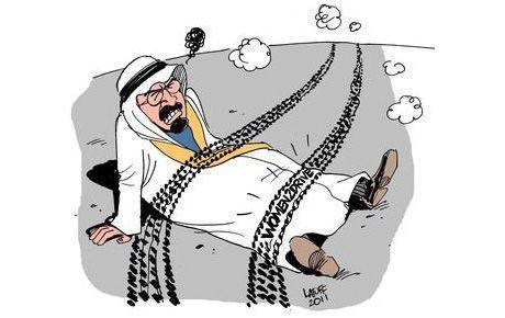 Kral'ı eleştiren Latuff'a sansür