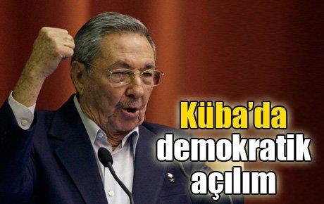 Küba'da demokratik açılım