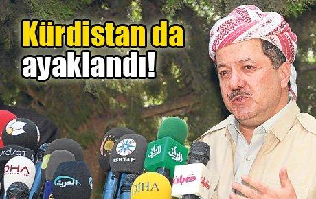 Kürdistan da Ayaklandı!