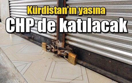 Kürdistan'ın yasına CHP de katılacak
