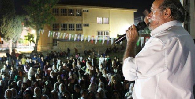 Kürkçü: Erdoğan'ı sarayına gömeceğiz