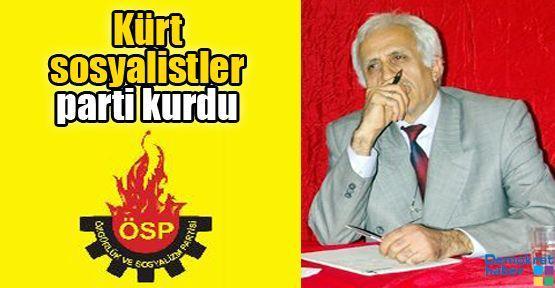 Kürt sosyalistler parti kurdu