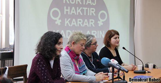'Kürtaj, hastanelerde yasadışı yollarla engelleniyor'
