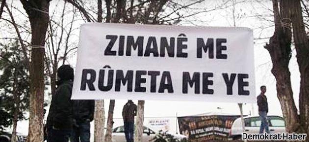 Kürtçe afişe para cezası
