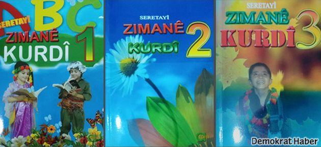 Kürtçe ders kitapları hazır