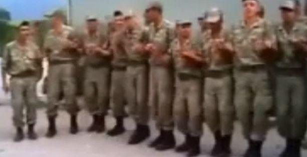 Kürtçe şarkıyla halay çeken askerlere soruşturma