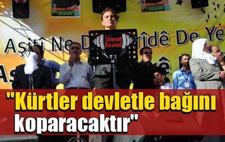 'Kürtler devletle bağını koparacaktır'