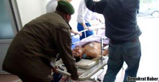 Kütahya'da şüpheli asker yaralanması