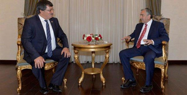 Kuzey Kıbrıs Cumhurbaşkanı Akıncı, HDP heyetini kabul etti