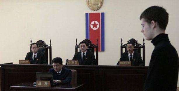 Kuzey Kore bir ABD'liyi 6 yıl hapse mahkum etti