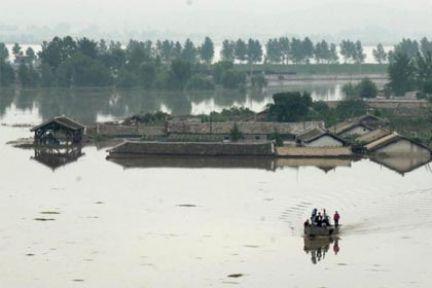 Kuzey Kore'de sel felaketi: 90 ölü